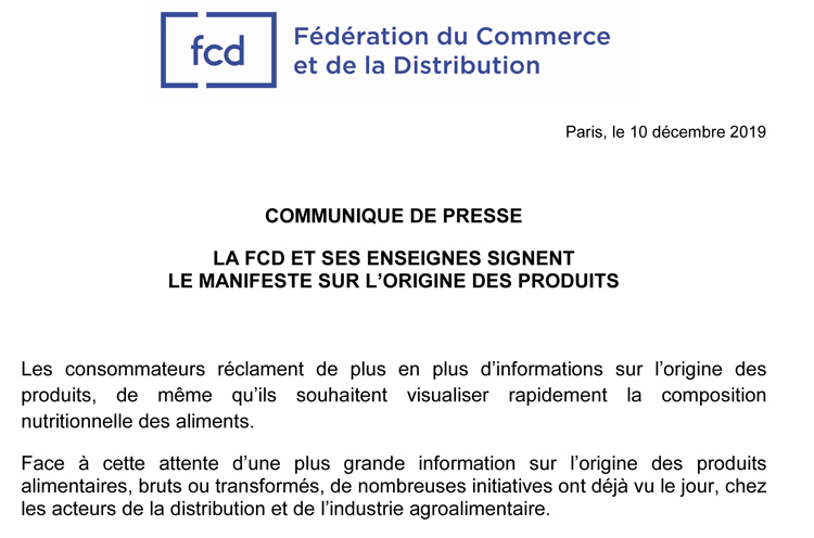 Microsoft Word - CP FCD - New deal alimentaire 10-12-19