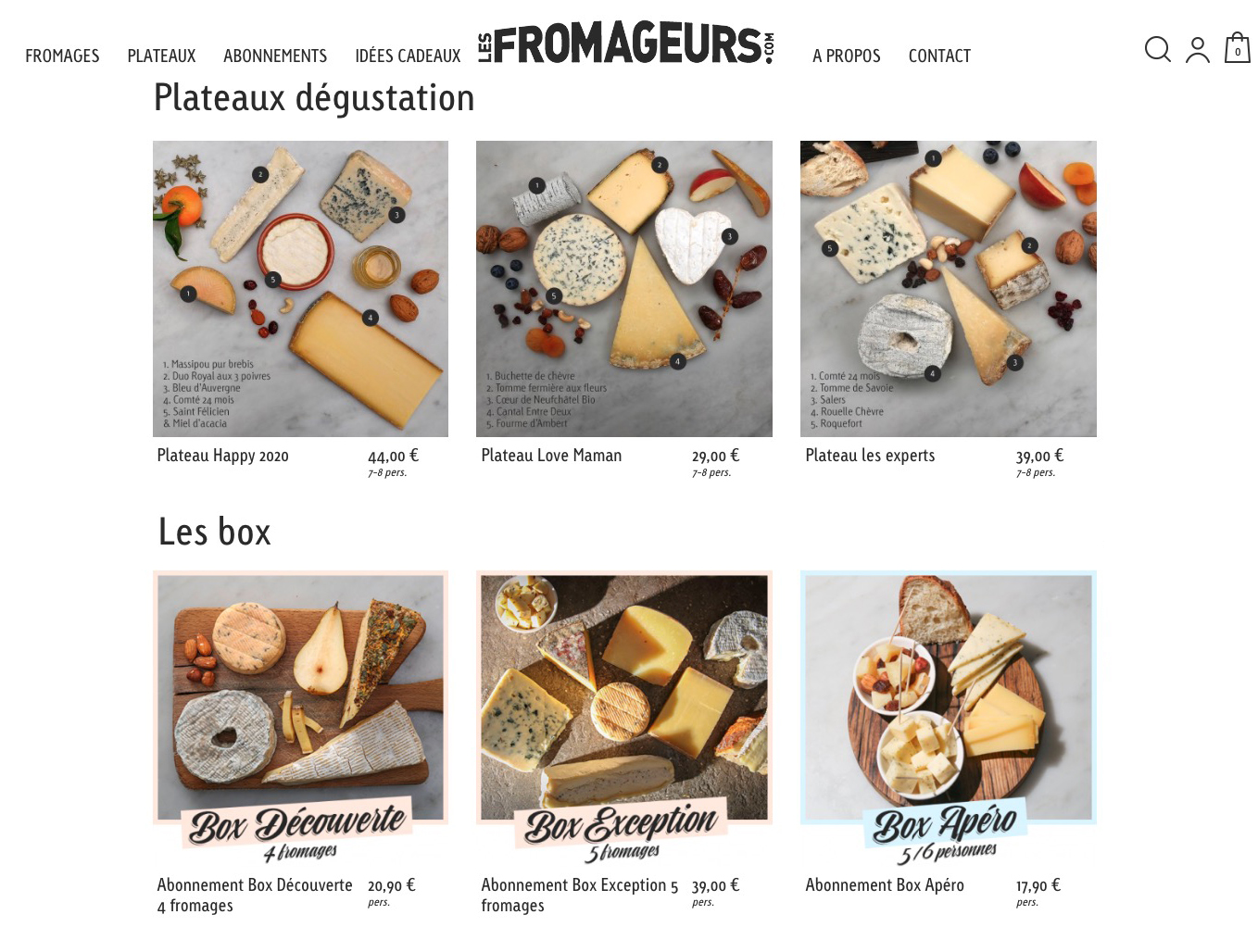 Les fromageurs 1