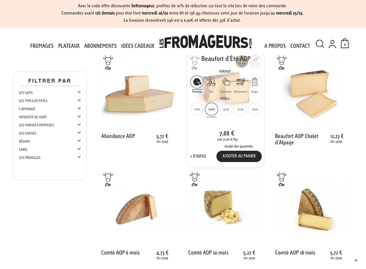 Les fromageurs 2