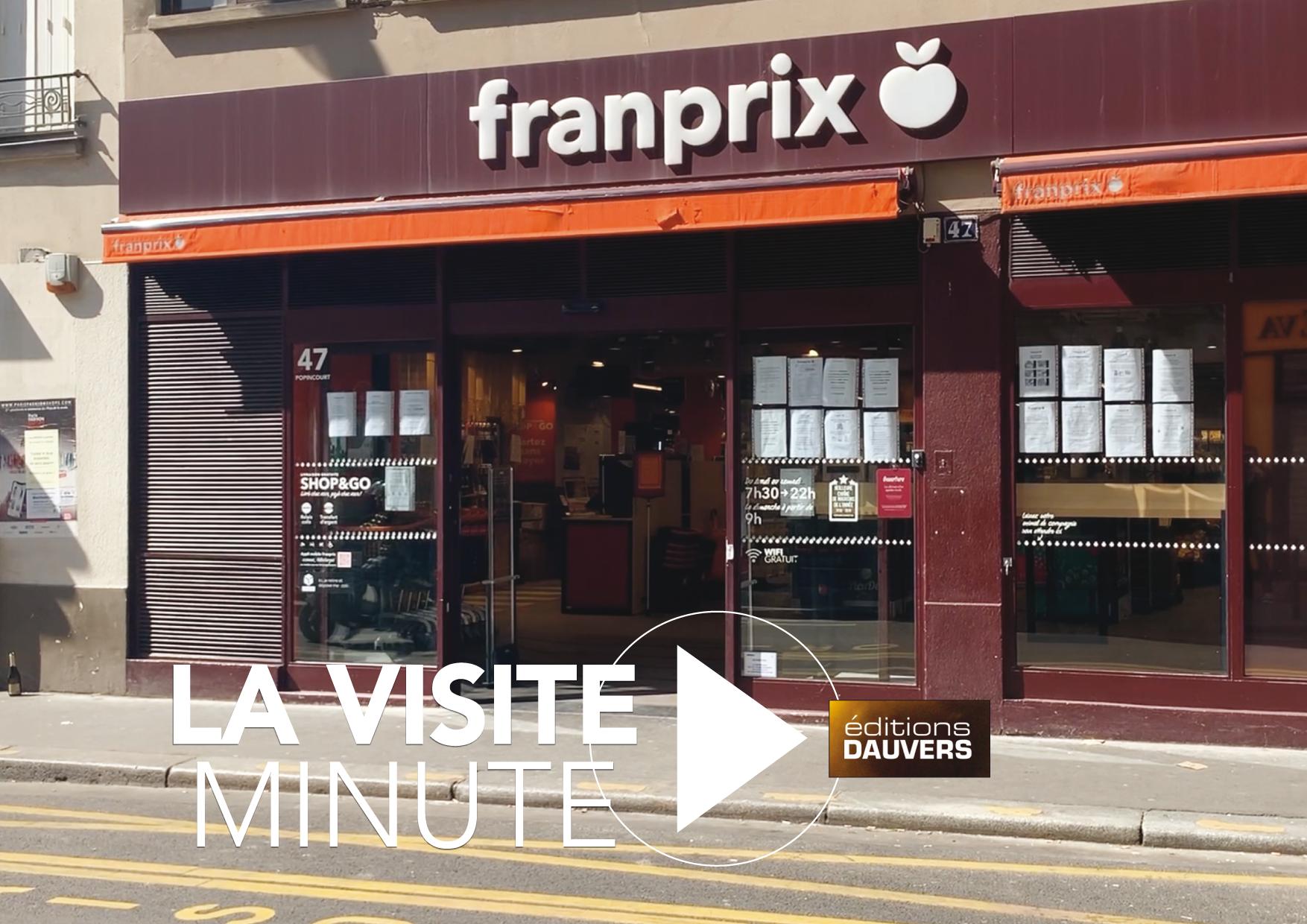 Visite Minute Franprix