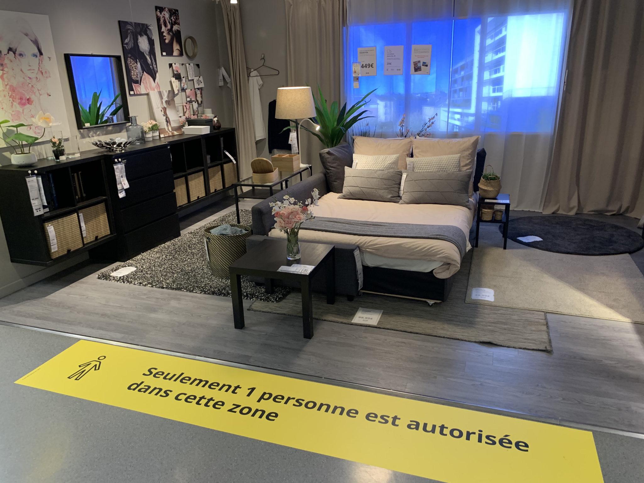 Ikea lit
