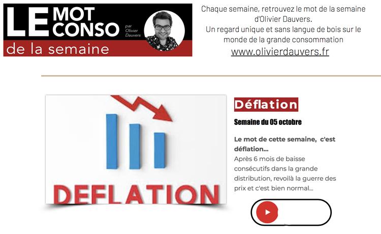 Le Mot Conso Deflation