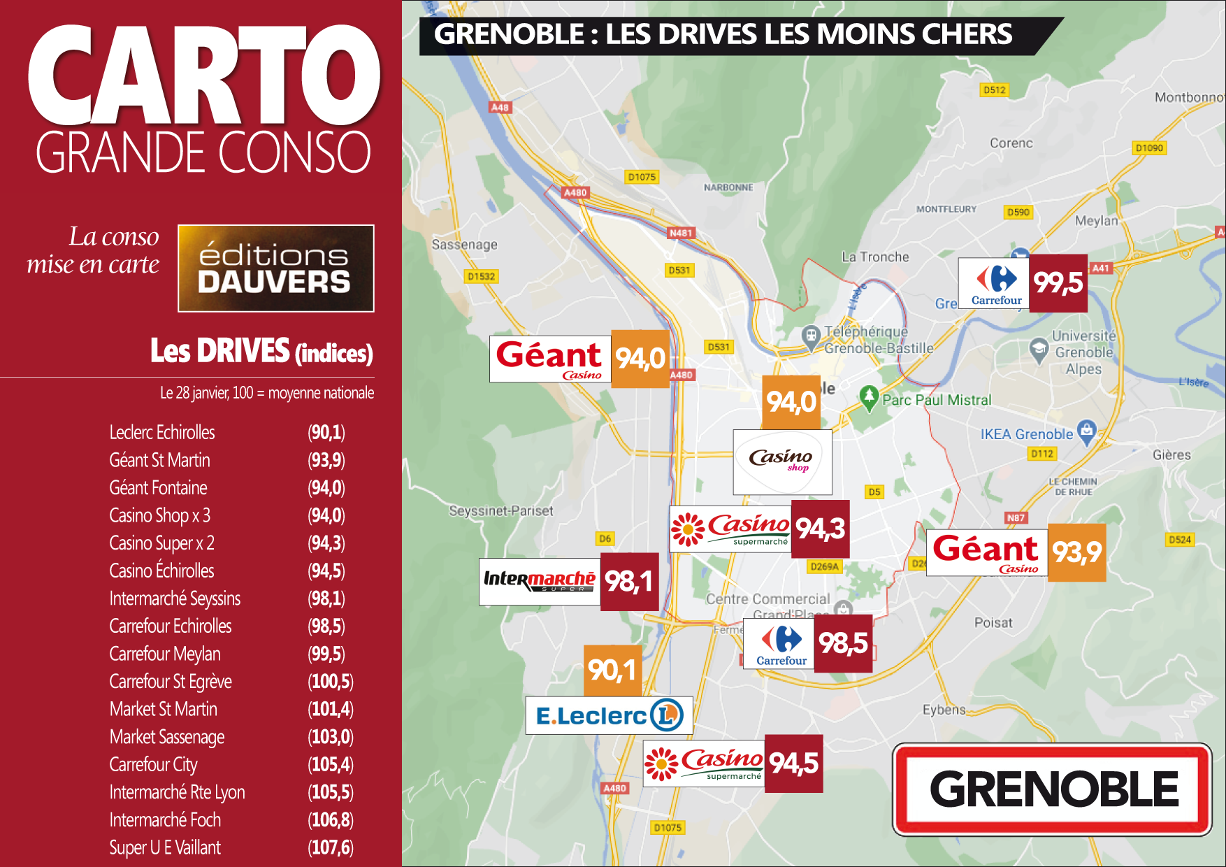 Carto Grenoble