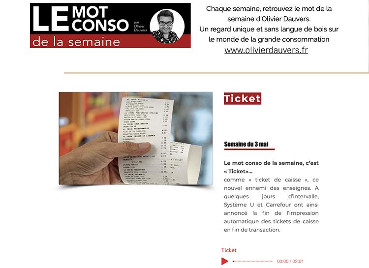 Mot Conso Ticket