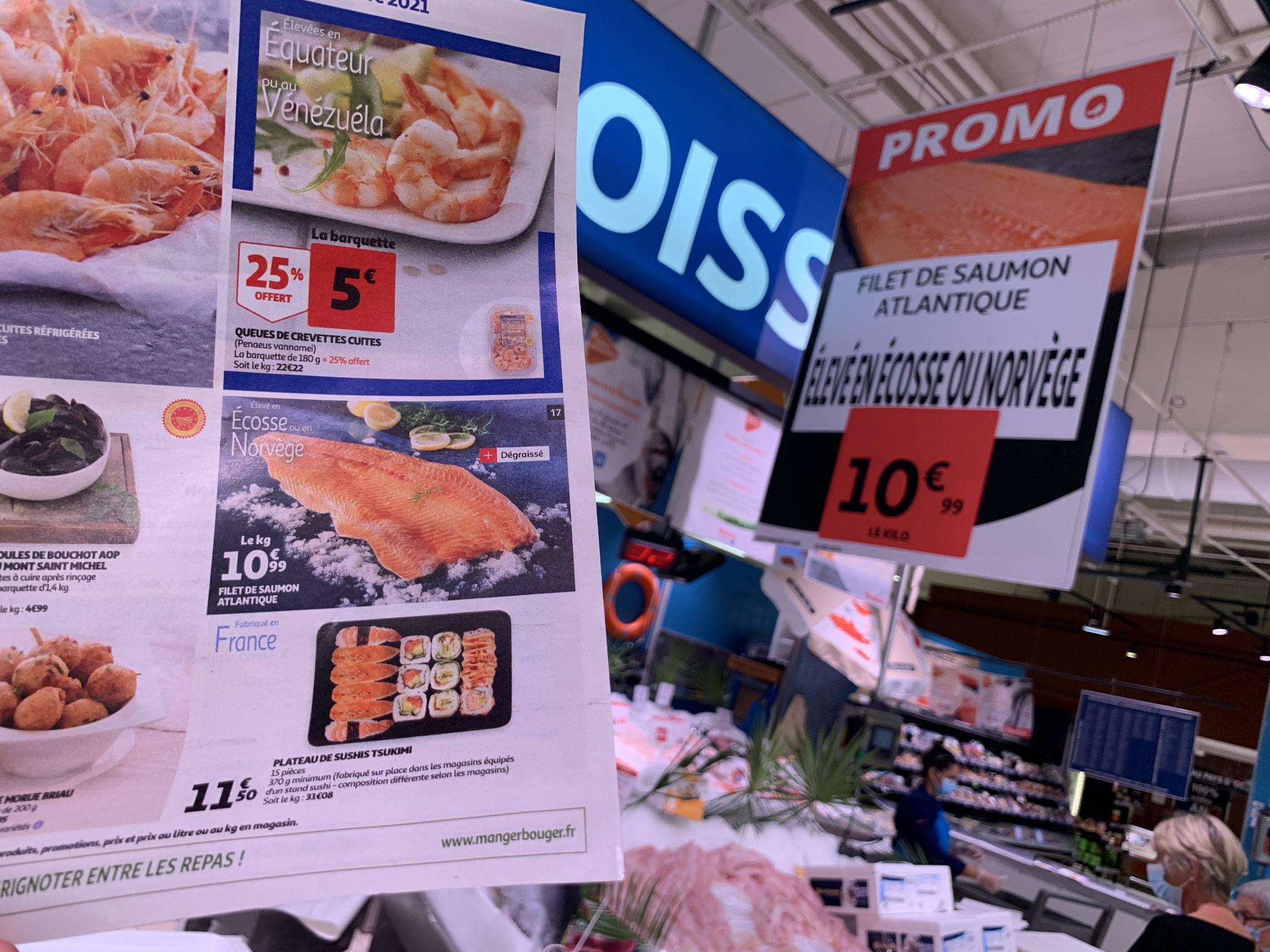 Carrefour SaumonIMG_4906Auchan